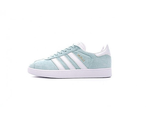 Schuhe Damen Adidas Originals Gazelle Bb5488 Mint Grün