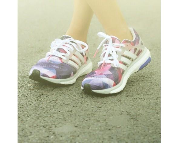 Schuhe Unisex Weiß / Zero Metallic / Cora Schwarz Adidas Running Energy Boost Esm B40901