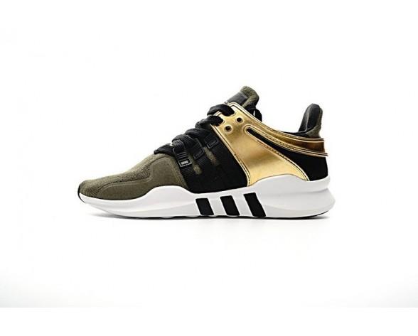 Schuhe Herren Adidas Eqt Support Adv Primeknit 93 Bb1311 Army Grün & Gold