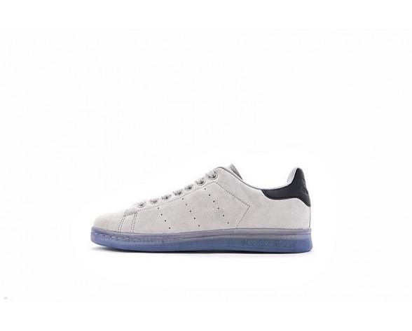 Schuhe Grau & Blau Adidas Originals Stan Smith S80031 Unisex