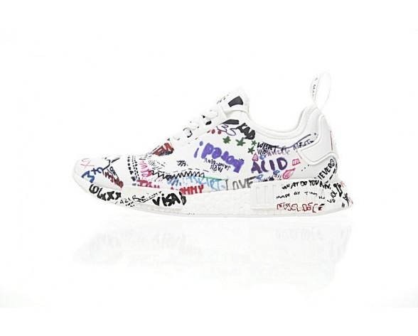 Schuhe Vetements X Adidas Nmd Boost Ba7527 Unisex Creative Graffiti