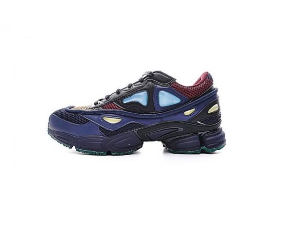Unisex Raf Simons X Adidas Consortium Ozweego 2 D66400 Schuhe Shale Blau-Braun