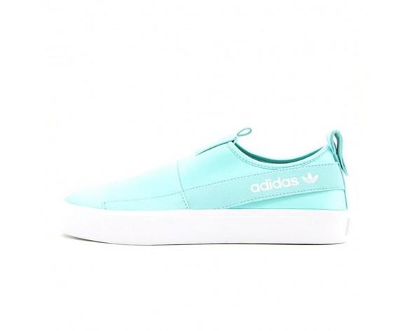 Schuhe Mint Grün & Weiß Adidas Originals Slip On Honey 2.0 H00854 Unisex