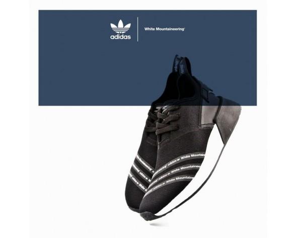 Unisex Schuhe Adidas Originals By Mountaineering S7456 Schwarz & Weiß