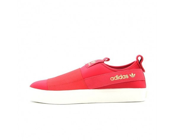 Unisex Schuhe Rot Wine Adidas Originals Slip On Honey 2.0 H00855