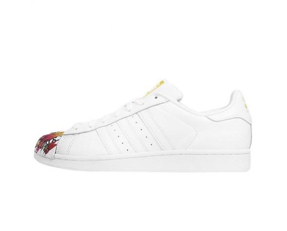 Schuhe Adidas Originals Superstar Mr. Supershell & Artwork Boy Girl Mr. Ftwr Weiß Unisex Ftwr Weiß