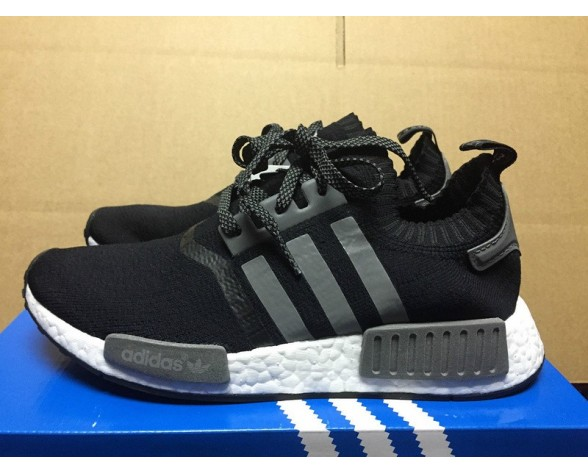 Adidas Originals Nmd Runner Pk & Key City Activation S31523 Schwarz & Grau & Silber Schuhe Unisex