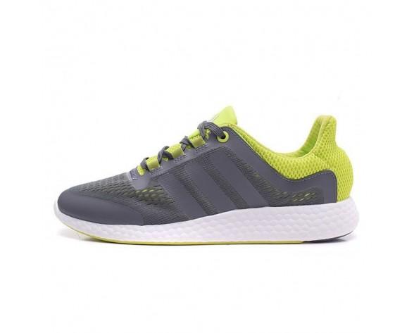 Grau Grün Adidas Pure Boost Chill S81454 Schuhe Unisex