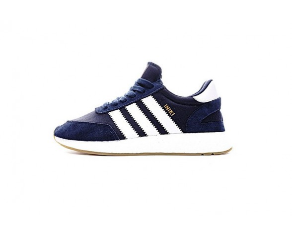 Schuhe Marine Blau Unisex Adidas Iniki Runner Boost Bb2092