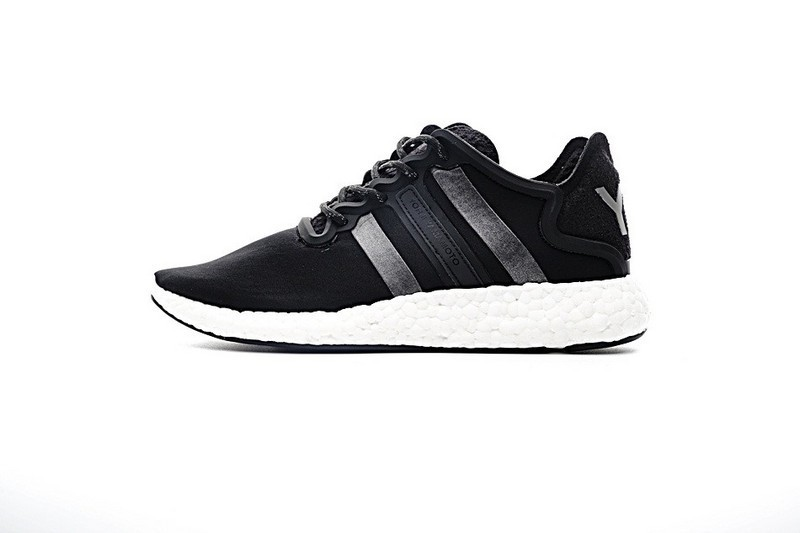 b8c8e42b409d2 Details Über Adidas Y-3 Yohji Boost Run Bb4865 Schuhe Schwarz   Weiß ...
