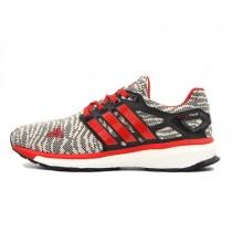 Schuhe Grau Rot Speckle Adidas Energy Boost Primeknit Esmey M29761 Unisex