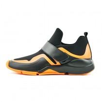 Unisex Schuhe Charcoal / Schwarz / Orange F/W Adidas Y-3 Future Low Bb4819