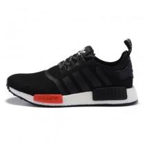 Schuhe Adidas Nmd R1 X Footlocker Exclusive Aq4498 Schwarz & Rot Unisex