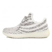 Unisex Schuhe Rice Weiß & Licht Grau Adidas Yeezy 550 Boost Aq3661