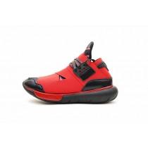 Schwarz & Rot Lightning Schuhe Y-3 Qasa High Unisex