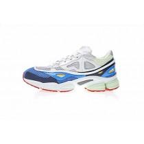 Weiß & Blau & Rot Raf Simons X Adidas Consortium Ozweego 2 B26076 Unisex Schuhe