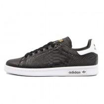 Unisex Schuhe Adidas Stan Smithodile Aq4631 Crocodile Schwarz & Weiß