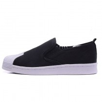 Schwarz Adidas Originals Superstar Slip On Unisex Schuhe