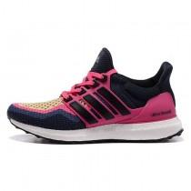 Adidas Ultra Boost Tief Blau Schwarz Rose Schuhe Unisex