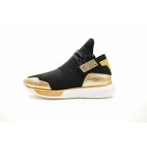 Schwarz & Gold Snake Schuhe Y-3 Qasa High Bb4762 Unisex