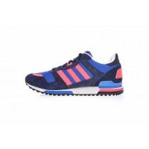 Tief Blau & Rosa Schuhe Adidas Originals Zx700 B34333 Herren