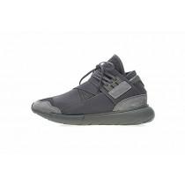Adidas Y-3 Qasa High Cg3194 Schuhe Unisex Olive Grün & Schwarz