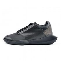 Schwarz Adidas X Rick Owens Tech Runner B35083 Unisex Schuhe