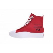 Y-3 Bashyo Trainer Boots Ac7519 Schuhe Rot & Weiß Unisex
