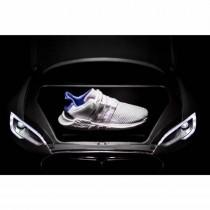Schuhe Unisex Weiß & Royal Blau & Schwarz Adidas Eqt Support Future Boost 93/17 Bz0592