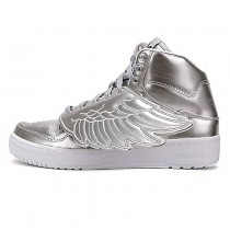 Adidas Originals X Jeremy Scott Wings S77798 Schuhe Unisex Metallic Silber