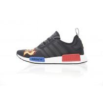 Thrasher X Adidas Nmd R_1 Boost Ba7526 Schuhe Unisex Flame