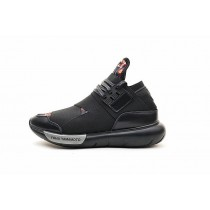 Schwarz & Rot Flower Schuhe Y-3 Qasa High B25187 Unisex