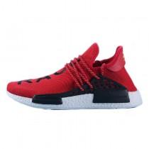 Herren Pharrell Williams X Adidas Nmd Human Race S79161 Bright Rot Schuhe