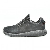 Adidas Yeezy Boost 350 Leather Sneakers Aq2659 Herren Schwarz Schuhe