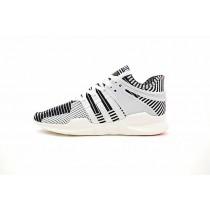 Unisex Adidas Eqt Support Adv Primeknit Ba7496 Schuhe Schwarz/Weiß/Turbo Rot