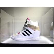 Unisex Schuhe Adidas Originals M Attitude Up B35324 Weiß & Licht Rosa