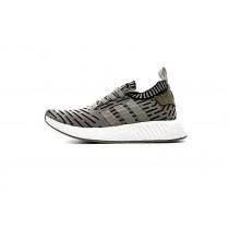 Schuhe Herren Adidas Originals Nmd R2 Primeknit Ba7198 Olive Grün