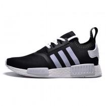 Unisex Schwarz & Weiß Adidas Originals Nmd Schuhe