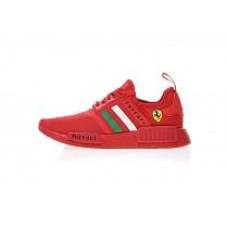 Ferrari X Adidas Nmd R_1 Boost Ba7788 Unisex Ferrari Rot Schuhe