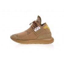 Y-3 Qasa High B389 Schuhe Wheat Gelb Unisex