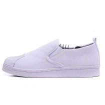 Unisex Adidas Originals Superstar Slip On Schuhe Weiß