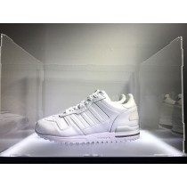 Weiß Adidas Originals Zx700 Leather G62110 Schuhe Unisex
