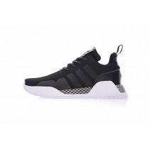 Schwarz & Weiß Schuhe Adidas Af 1.4 Primeknit By9395 Unisex