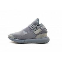 Schuhe Y-3 Qasa High Bb4734 Ash Grau Unisex