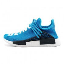 Schuhe Unisex Pharrell Williams X Adidas Originals Nmd Human Race Bb0618 Blau