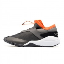 Charcoal / Schwarz / Orange Unisex F/W Adidas Y-3 Future Low Bb4809 Schuhe