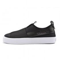 Unisex Adidas Originals Slip On Honey 2.0 H00851 Schwarz Weiß Schuhe
