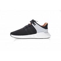 Schwarz & Orange & Gelb Adidas Eqt Support Future Boost 93/17 Cq2396 Herren Schuhe
