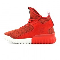 Unisex Schuhe Orange Rot Adidas Originals Tubular X Primeknitrange Aq4548