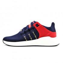 Schuhe Unisex Tief Blau & Rot & Weiß Adidas X Mountaineering Eqt Support 93/17 Eqt Ba7480